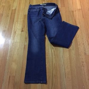 Old Navy jeans, Sweetheart, dark wash, 10